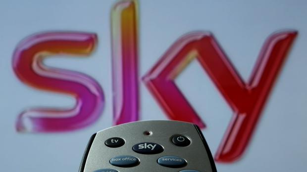 A picture of a Sky remote control as the broadcaster receives a proposed takeover from Comcast (PA)