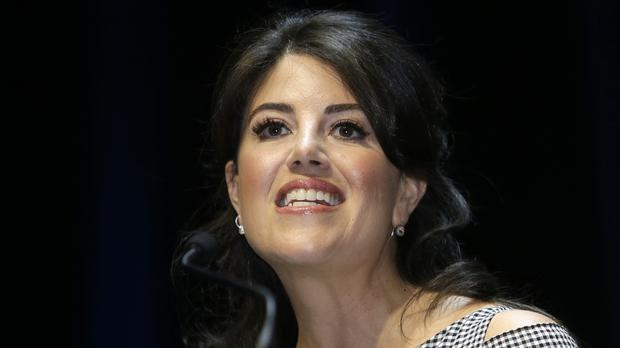 Monica Lewinsky said she had been touched by the support she received from the #MeToo movement (AP)