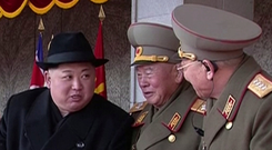 North Korea leader Kim Jong-un is trying to buy time, says US. Photo: AP