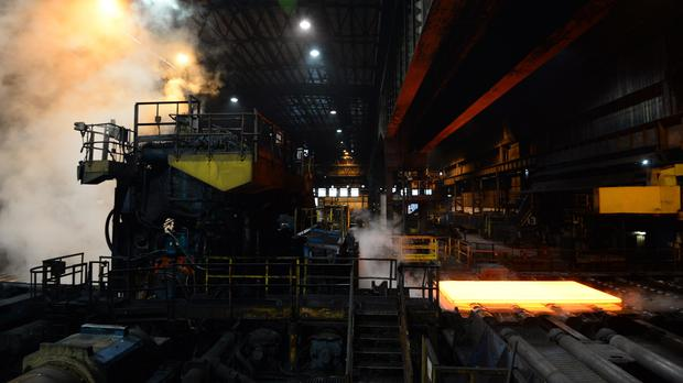 Donald Trump's proposed steel tariffs could hit British industry (Anna Gowthorpe/PA)