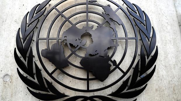 The UN said it was shocked and saddened by the deaths (Anthony Devlin/PA)