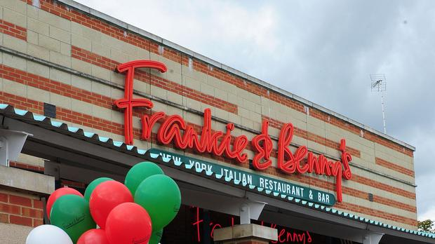 Frankie and Benny's (Anna Gowthorpe/PA)