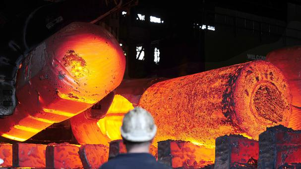 Britain's steel industry exports £360 million worth of products into the US every year (John Giles/PA)