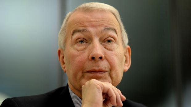 Labour MP Frank Field, who has written to the Pensions Regulator over Sir Philip Green's Arcadia (Anthony Devlin/PA)