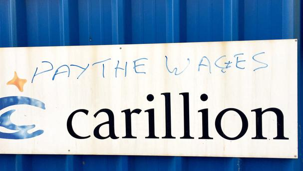 The Official Receiver said 8,216 jobs have been saved since Carillion went into liquidation in January (Pat Hurst/PA)