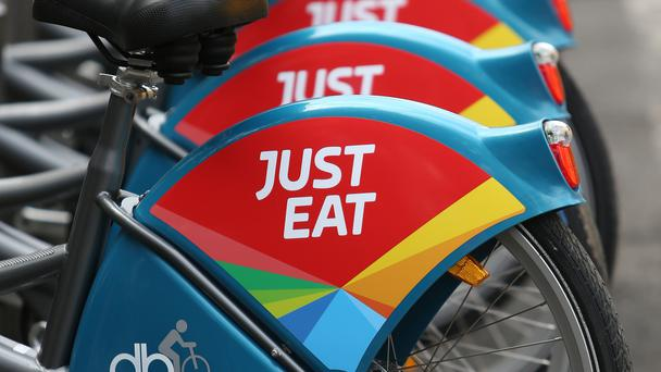 Sales are up at FTSE 100 firm Just Eat (PA)