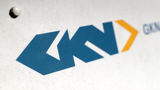 A sign for GKN in Portsmouth, Hampshire (PA)