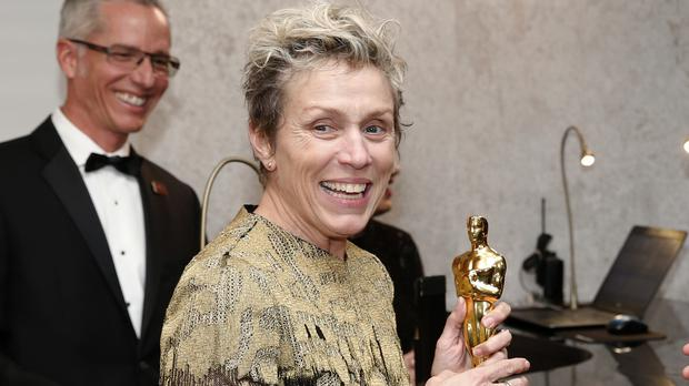 Frances McDormand, win the Orscar for Best Actress (Photo by Eric Jamison/Invision/AP)