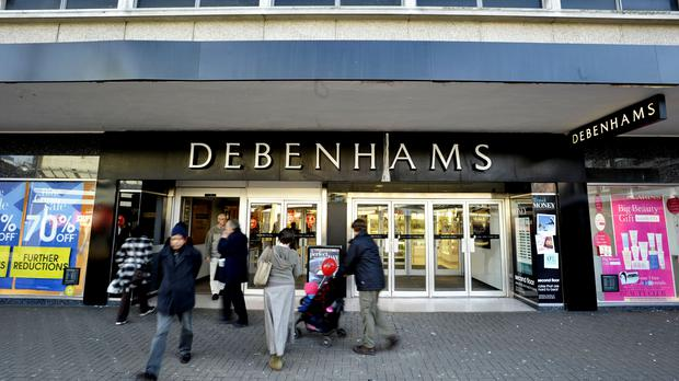Debenhams stock