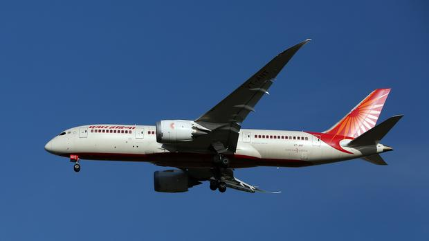 An Air India Boeing 787-8 Dreamliner plane (Steve Parsons/PA)