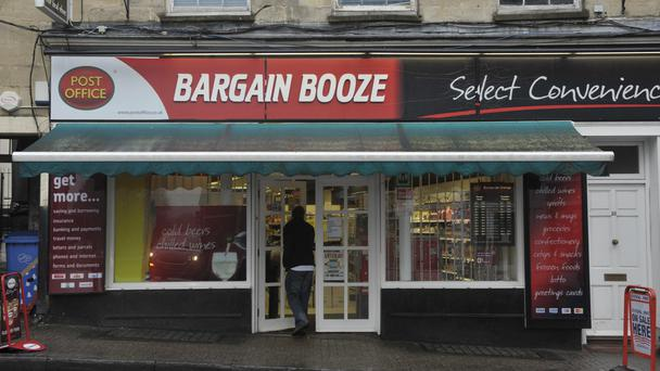 Conviviality owns Bargain Booze (Ben Birchall/PA)