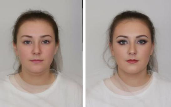 Women wearing more make-up were deemed less able to be leaders Photo: University of Abertay