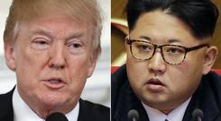 Donald Trump is due to meet with Kim Jong Un (Evan Vucci Wong Maye-E/AP)