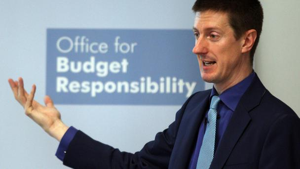 Office for Budget Responsibility (OBR) chairman Robert Chote (PA)