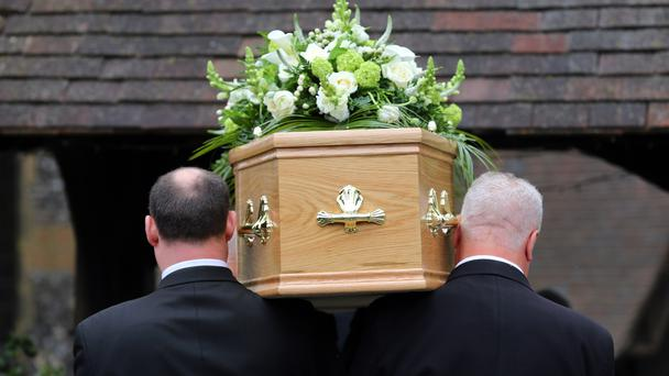 Funeral firm Dignity has seen its shares spring back after revealing lower-than-expected take-up for its