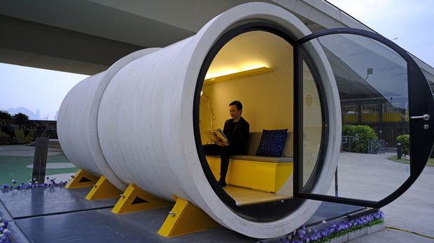 Hong Kong Tube Homes