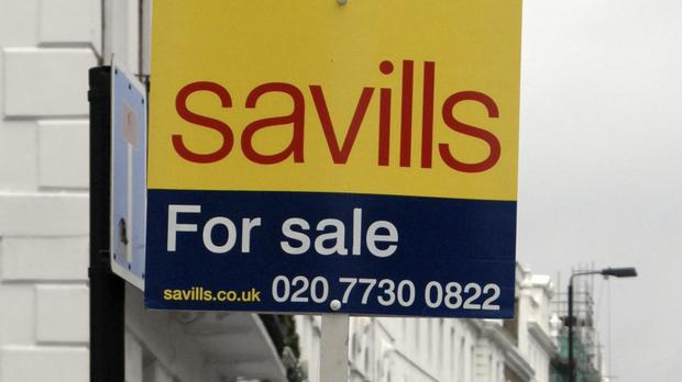 Estate agent Savills has cautioned over a slowdown in the housing market (PA)