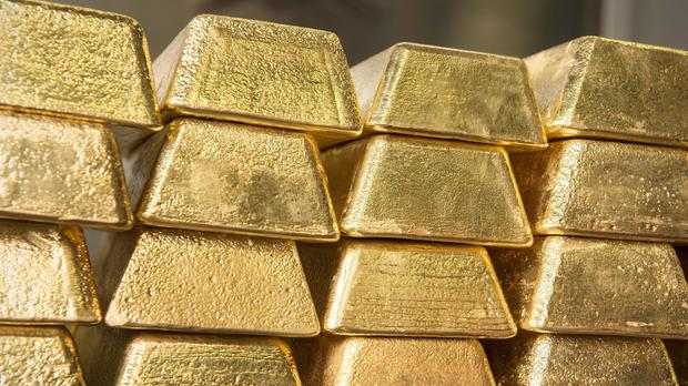 The authorities recovered 172 gold bars