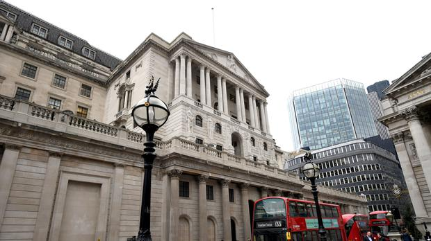 A picture of the Bank of England in London (PA)