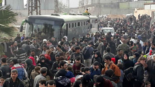 Syrian opposition agree to evacuate town in Ghouta
