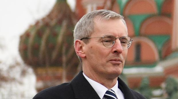 Laurie Bristow, the UK's ambassador to Russia (Stefan Rousseau/PA)