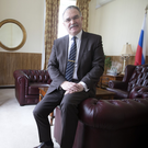 RUSSIAN: Ambassador Yury Filtov. Photo: David Conachy