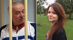 Sergei and Julia Skripal