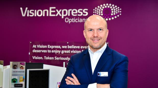 a66edef05a Jonathan Lawson is chief executive of Vision Express (Vision Express PA)
