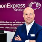 Jonathan Lawson is chief executive of Vision Express (Vision Express/PA)