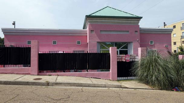 The Jackson Women's Health Organisation clinic in Mississippi (Rogelio V Solis/AP)