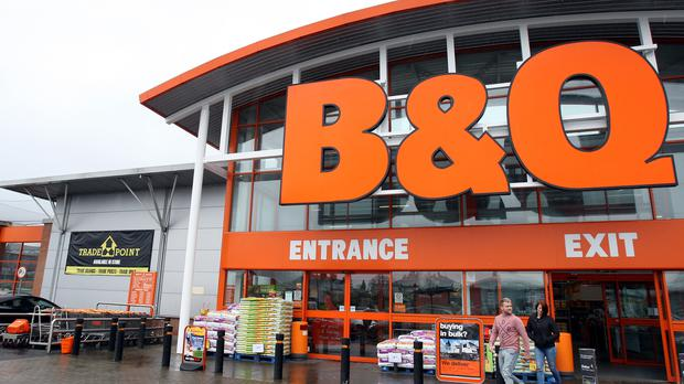 BandQ owner Kingfisher has reported annual profits tumbling more than 10% and warned over an