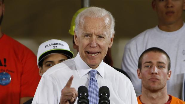 Joe Biden said he would