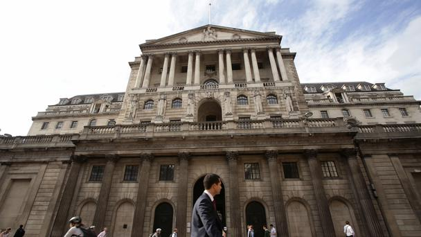 The Bank of England has held interest rates at 0.5% (Yui Mok/PA)