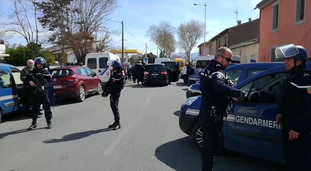 Supermarket hostage-taker shot dead by French police