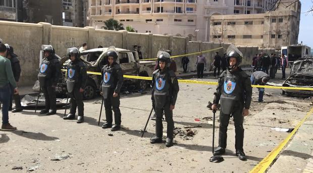 One dead as bomb targets security chief's convoy in Egypt