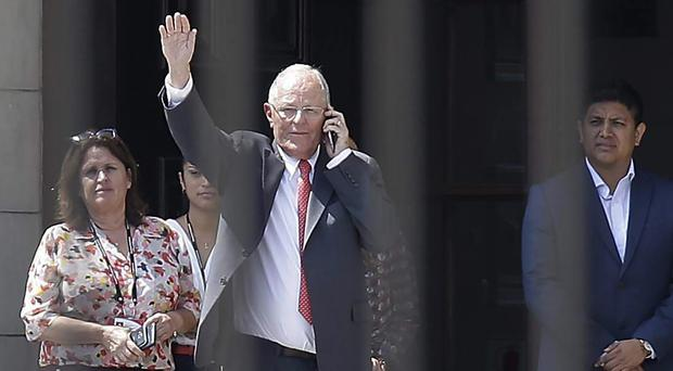 Peru's ex-president barred from leaving country amid corruption probe