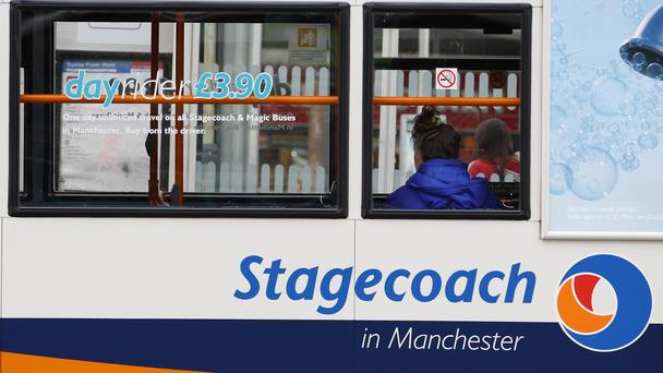 Despite the hit, Stagecoach said it was on track for annual earnings targets (PA)