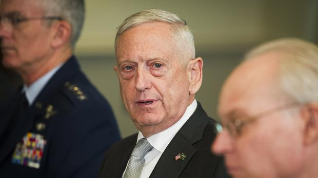 Defence Secretary Jim Mattis (Cliff Owen/AP)