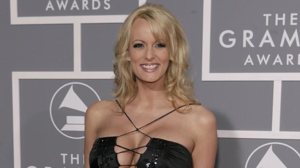Stormy Daniels says she had sex with Donald Trump (Matt Sayles/AP)