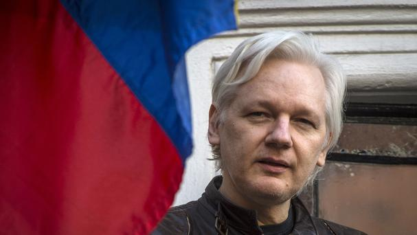 Julian Assange remains subject to arrest in Britain for jumping bail (Lauren Hurley/PA)