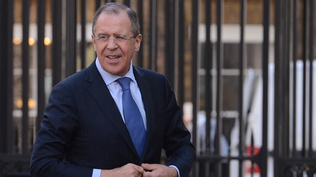 Sergei Lavrov said the same approach will be applied to other nations that expelled Russian diplomats this week (Stefan Rousseau/PA)