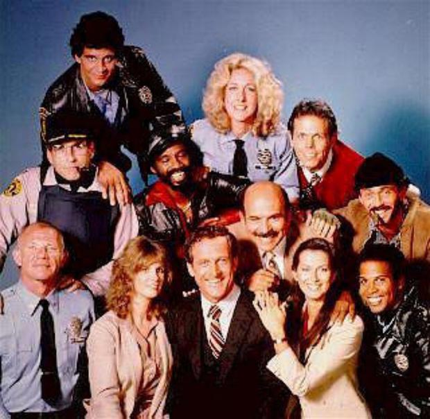 Cast of Hill Street Blues.