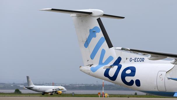 Flybe was mauled by the Beast (Tim Goode/PA)