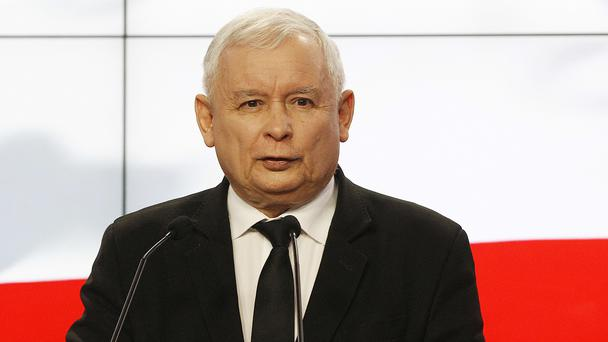 Jaroslaw Kaczynski says the earnings of politicians will be reduced and bonuses recently paid to government ministers will go to charity. (Czarek Sokolowski/AP)