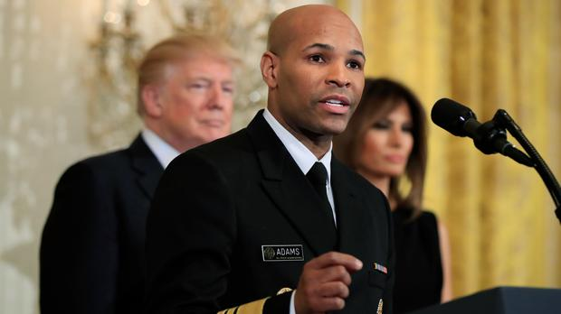 Surgeon General Jerome Adams says more Americans should be ready to help combat overdoses. (Manuel Balce Ceneta/AP)