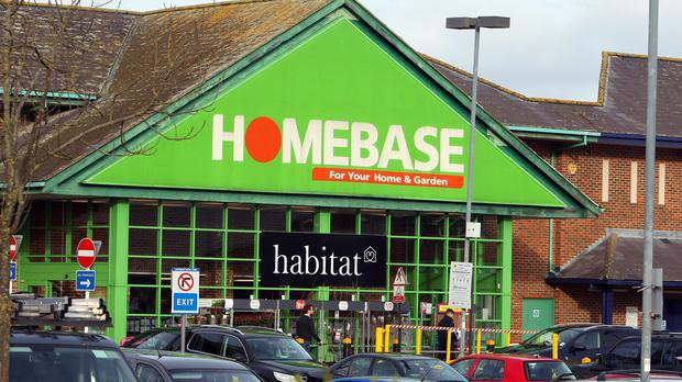 A picture of a Homebase store as potential buyers circle (PA)