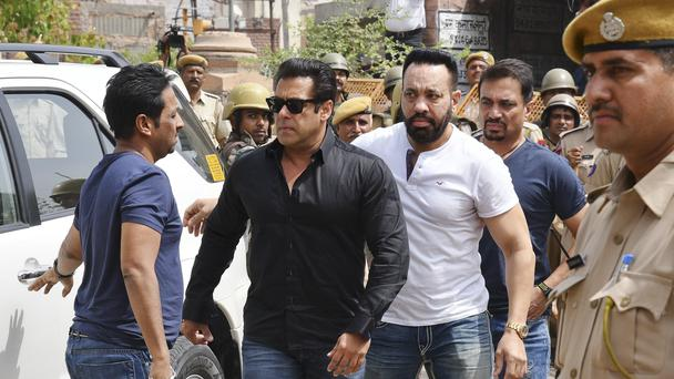 Bollywood star Salman Khan (Sunil Verma/AP)