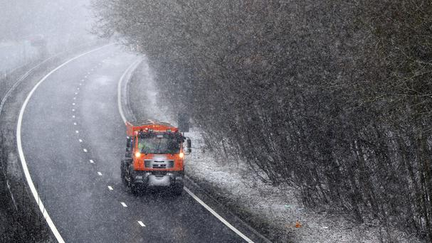 The think tank said all major sectors were hit by the bad weather (PA)