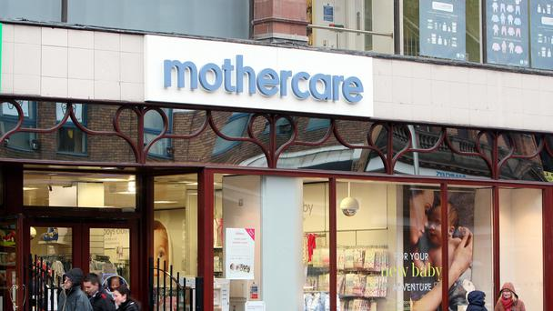 Online sales proved a bright spot amid the prevailing high street gloom for Mothercare