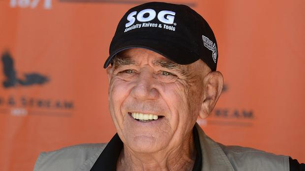 R Lee Ermey has died at the age pf 74 (Jack Hanrahan/Erie Times-News via AP, File)